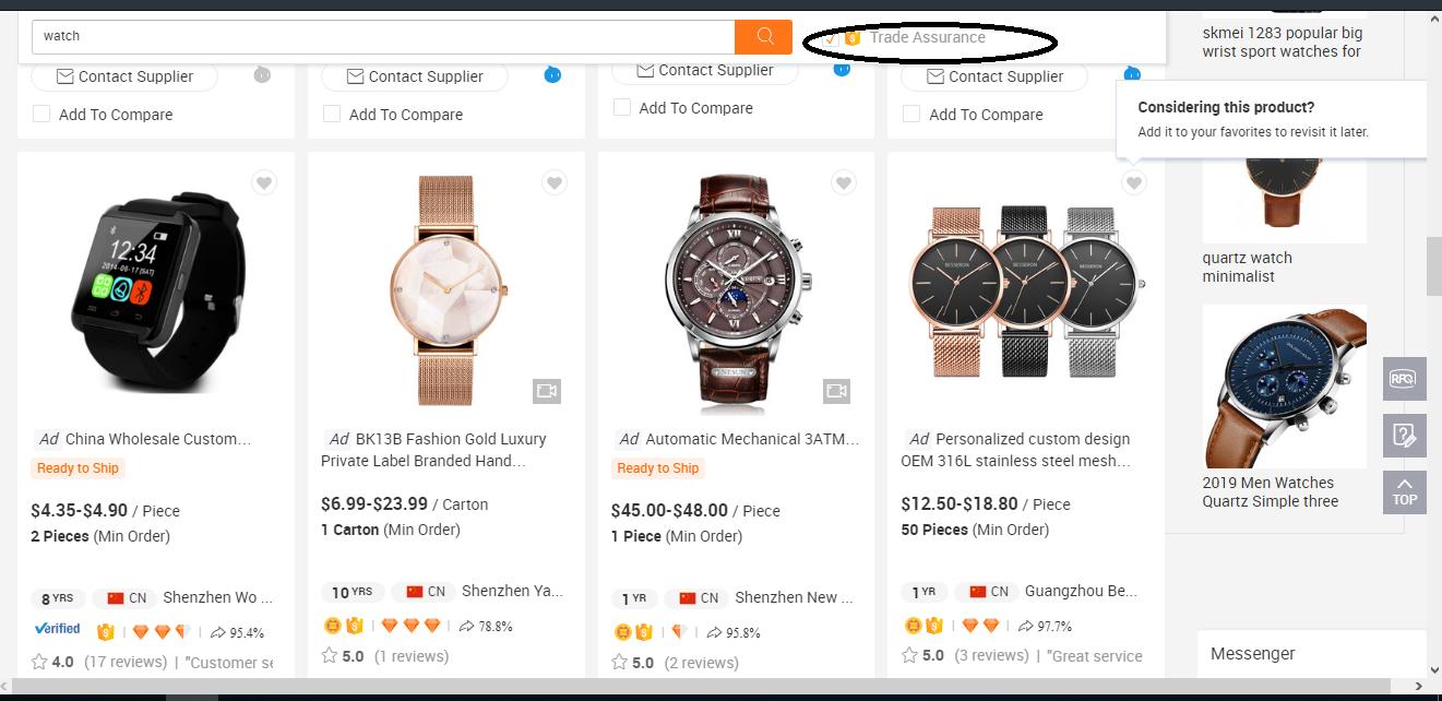 alibaba.com - trade assurance
